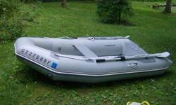 2002 Achilles 96 LSR aluminum floor roll up with oars, pump, and storage bag. Excellent condition. $850.00