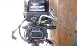 Very nice used 9,9hp Merc outboard 1992 Electric start Remote Control model Runs great GSnoBS@aol.comListing originally posted at http