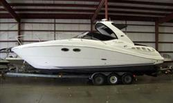 2008 Sea Ray 290 SUNDANCER Super Clean, Freshwater Sea Ray 290 Sundancer. Very well Optioned with Twin Mercruiser 5.0L V8s, Kohler Generator and AC / Heat. Boat has just been detailed and is in beautiful condition. Stop by and see this boat in our indoor