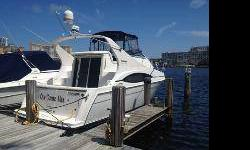 2003 Carver Mariner 350. Fantastic condition. Lots of upgrades. Both engines and Starboard transmission recently rebuilt. Extensive upgrades and electronics (even cell signal booster and Direct TELEVISION). The nicest mariner you will find! Custom
