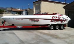 2004 Daves Custom Boats FX-28,2004 - updated 2010 DCB FX28 Extreme. This boat was featured in the July 2010 issue of Performance Boats Magazine, for its complete over-haul in 2010. This boat is in perfect condition, better than new with all the custom