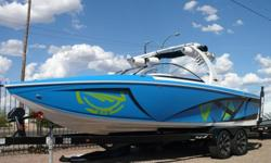 *** Just In! *** 2013 Tige Z3 Surf Machine with Only 19 Hours! Like New Only $89,500! Trades Welcome! Financing Available O.A.C.!*** Price Includes! **** PCM 6.0L ZR 409hp with only 19 total hours!* Surf Ballast System* Tower of Power Stereo System* 3