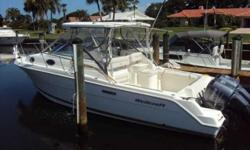 2005 Wellcraft 290 Coastal This 2005 Wellcraft 290 Coastal is a great fishing boat, but also has some great accommodations for the whole family. She is equipped with Twin Yamaha F250 4-Strokes with just 270 hours on them. Fishing amenities include two