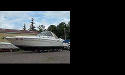 VERY CLEAN,one owner FRESH WATER BOAT.TWIN MERCRUISER 8.1 INBOARDS,622 HOURS.GENSET WITH ONLY 88 HOURS,DUAL HEATAIR CONDITIONING,FULL CAMPER CANVAS.AM FM COMPACT DISC PLAYER WITH REMOTE,POWER WINDSHIELD VENT,POWER MIDCABIN BERTH.THIS BOAT IS IN VERY