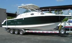 GENEROUS REFERRAL REWARD FOR ANYONE THAT BRINGS THE BUYER!!! 2006 Wellcraft 290 COASTAL, BANK SHORT SALE ALREADY APPROVED. NO DELAY. NOT A REPO. Photos taken May 31-Price drastically reduced because this boat must go by end of June. Excellent fishing