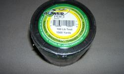 BRAND NEW POWER PRO BRAIDED FISHING LINE 1500 yrd. Spools. BRAND NEW unopened, unused in original plastic package.Sizes; 10lb., 20lb., 30lb. and 40lb. test $89.95Sizes; 50lb., 65lb., 80lb. test $89.95Size; 100lb. test $99.95All spools are Brand New