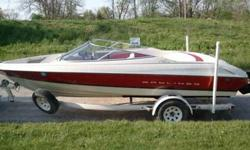 For Sale a 1996 Bayliner 2050ss with trailer. Engine 4.3LX/V6 Alpha One in board has hydrofoil stabilizer and transom saver to support the lower unit. Also comes with cover, canopy and fish finder. Boat holds 8 people. Will come with 8 adult life vest, 4