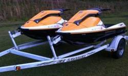 Package Deal Two 2005 3D Seadoos Trailer to hold both seadoos Covers for seadoos Two Life Jackets 3D Seadoos are very rare They are in excellent condition with less than 20hrs on both You can do three different things on these seadoos Stand up Sit down on