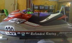 2005 Seadoo RXP Reloaded Racing Built Turbo Kit External Intercooler BOV Intake Manifold (good to 30psi) Oil Catch Can Titanium Retainers Ferrera Valves Rive Pro Series 8650 ECU Riva 50 lb Injectors Adjustable Fuel Regulator UMI Steering Race Sponsons w/