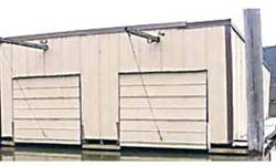 """BOATHOUSE. 28' wide, two slip 7'10"""" by 21', blue & white Styrofoam floatation, holds 19' outboard or 21' stern drive, yrly lease w/ Heyburn State Park $8,000 OBO 208-582-1078. .See item listed at http"""