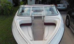 Crownline 20 ftBow Rider . Simply put...This is a clean boat with only 170 hrs. It is in very good condition . Looks great,runs great and sounds awesome. I have only used this boat in saltwater 3 times.Otherwise it has been a freshwater boat. This is a