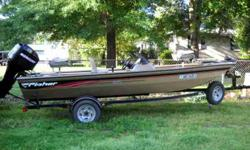 17.3 Bass Boat made by TRACKER; 50 (4-Stroke)MERCURY; motor guided TROLING MOTOR; two PEDESTAL SEATS; Only pre-owned about 40 HOURS; COMPLETE MAINTENCE CHECK JUST COMPLETED; READY TO GO FISHING; Thanks for looking! CALL 501- 920-0421 or (OBO)Listing
