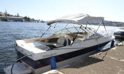 For sale by owner. Perfect family boat for Seafair, water skiing, swimming, dining or just cruising on the Lake. 2004 Bayliner 195 Classic Runabout and Karavan trailer. Low hours. In covered slip at Lake Union moorage - perfect location to take out on the