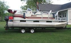 1995 20 ft 820 Sylvan Advantage Pontoon Boat Custom oversize pontoons1995 Covered Nissan NF40DEPT02 40 HP Motor1995 Hollywood TrailerIn very good conditionBoat is located in Henager outside of Scottsboro, AL404-861-2637