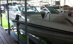 """This is a 1995 Caravelle Interceptor 232BR, Length 23'3"""", Volvo Cobra 5.8 EFI V-8, 285HP, Full gauge set, battery disconnect, dual batteries, fish finder, ship-to-shore radio, AM/FM CD radio with USB connector, captain call exhaust. No Trailer with this"""
