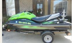 2009 Kawasaki Ultra 260x like new with only around 25 hours comes with factory cover and 2010 Shorelander trailer. Have title in hand for both. Asking $8500 FIRM. Brand new this ski would cost you 15K. Average list price for this model is $8900 and