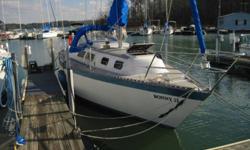 1979 columbia 8.7 sail boat located at kerr lake, nc- 14 hp yanmar deisel- roller furling jib- new canvas 2011- wheel steering- vhf radio- stereo- slip rent paid until july 2012