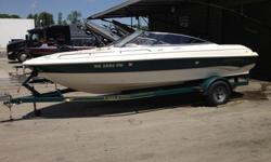 Selling a Monterey 196 bow rider.The Monterey is a great boat for Winnebago, it handles the rough water great. It has a 5.7 MerCruiser engine, so getting this boat up and going is no problem! In the engine compartment, there is a battery switch (no