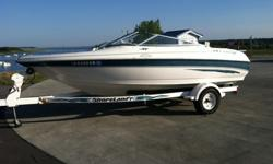 Holds up to 10 people and tag is good till July 2013. It has a 3.0 motor with a Volvo Penta SX outdrive on a good Shorelander trailer. All winterizing and work has been done through Brightwells Boathouse in Polk City, IA. It comes with 4 tubes with ropes,