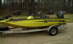 02 X-17 90 HORSEPOWER. YAMAHA, TILT TRIM,ALUM. TRAILER, 24 VOLT MINNKOTA MAX.,ON BOARD CHARGER, two LOWERANCE FISHFINDER GPS UNITS, SUPERR NICE TERRIFIC LOOKING BOAT; 8700.00 CALL; 285-9204, OR THANKSListing originally posted at http