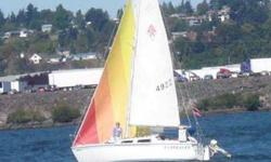 1985 Catalina sailboatFixed KeelTall rig (better sailing performance)Four sails