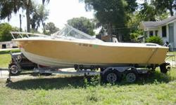 21Ft. Chris Craft Deep Sea Fishing Boat $8,800 The ideal boat for going way out to catch the big ones. There is absolutely nothing wrong with this boat other than the upholstery. This Boat is in excellent condition. It has a Brand New 305 Chevy Fuel