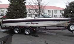 This 1995 Malibu Response is dressed up with the skier in mind. Comes with 350 Mercruiser with only 376 hrs. It also comes with a heater, hot/cold shower, stereo and more. Must see to appreciate.