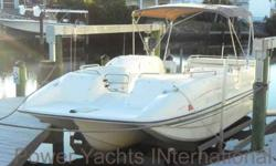 1995 Rinker 24ft Flotilla III For Sale by Power Yachts International - Taylor, Michigan Exterior Color