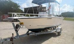 Equipment & Features 130HP Honda 4-Stroke O/B w/only 320 hrs Bimini Top Livewell Fishbox Dive Platform w/Ladder Just Detailed! New Bottom Paint Custom Trailer