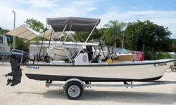 Equipment & Features 40HP Evinrude ETEC O/B with 200 hours Engine Tilt n Trim Bimini Top Cooler Seat w/Reversible Back Armstrong Swim Ladder Stereo CD Player Trailer Nice! Turn Key!