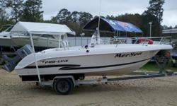 For sale is a Pro-Line 19 Sport in good shape. Comes with a Johnson 130hp that runs great. Hull is solid and sits on a very nice aluminum trailer. -Garmin GPS-Transom Live Well-Cooler Bench Seat-Aluminum trailer$8900Call, email or stop by the shop to take