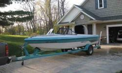 """SUNSETTER EURO F-3 SPORT OPEN BOW BY MALIBU - SKI BOAT & TRAILER THIS IS A VERY NICE """"ONE OWNER BOAT"""" WITH ONLY 440 HOURS on Boat and New 64 hours on Engine ONE OWNER - BOAT LOOKS VERY NICE SHINES LIKE NEW Great ski and wakeboard boat. Tons of power Boat"""