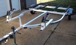 2007 Triton Double pwc jet ski trailer