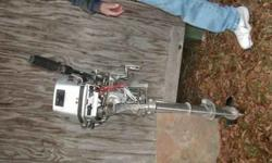 Four Stroke Honda motor for sell runs well 900.00 OBO Please call or 233-2052Listing originally posted at http