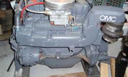 1987 OMC 3.0 Chevy 4 cylinder motor 140hp, Runs Excellent and it can start it so you can hear it run. Complete motor drop in. Electric fuel pump, electronic ignition kit. $900.00 or e-mail or 770-0966Listing originally posted at http