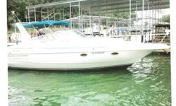 1995 Cruisers 3575 Esprit. We are selling our recently updated cabin cruiser. The dinette has new leather upholstery and coordinating leather accent panels in the cabin which give it a brand new look. It has a new camper package, swim platform and several
