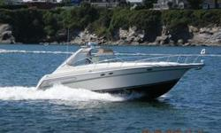 If your in the market for luxury and or cruising, our 44' Maxum has all of the amenities and power you would be looking for in a $221,795 (priced new) vessel. With only 450 hours on each of her 330 HP durable Diesel inboard Cummins engines, a brand new