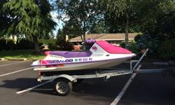 Summer is almost over and I'm done with a Jet Ski. If you enjoy them, this one runs great...low hours and mostly run in fresh water. It's a 1993. I'm the second owner. The first was a woman in her 50's and I'm over 60 so it's been well maintained with low