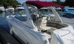 This boat is in perfect condition. Original owner has kept her on Lake Norman since purchase. Owners are a retired couple so no kids, no pets, no smoking. The boat is immaculate. Powered by twin Volvo 5.7 OSi engines at 270 HP each with 225 hours.