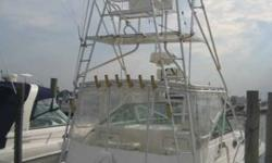 2003 Wellcraft 33 COASTAL Owner says bring your offer. Well equipped Tournament Edition 330 Coastal is perfect for inshore/offshore fishing and family cruising with her 38' LOA. She's priced to sell so please call for an appointment and showing today.