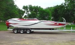 YOU DONT FIND THEM ANY NICER THEN THIS! LOADED UP WITH A GT PERFORMANCE 750HP EFI ENGINE,NO BLOWER,BOAT IS LOCATED IN COLORADO SPRINGS, CO. DELEVERY AVAILBLE.928-855-9555 www.horizonmotorsportsllc.com
