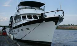 1986 DeFever Long Range Explorer Trawler Type