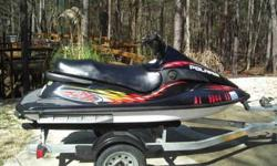 2001 Polaris JetSki . Hull and trailer in great condition. Blown engine but many good parts available. All new electrical. $950 for everything or call for prices on individual parts. Call Randy at 205-903-2688 or 205-678-8534. no texts or emails