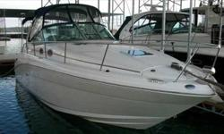 2006 Sea Ray 300 SUNDANCER It will take your breath away. The elegant curves and graceful style of this classic 300 Sundancer is guaranteed to capture attention. Come onboard and you'll see how the luxuriously appointed deck and wide open cabin of this