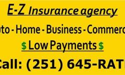 We have great rates on all types of boat insurance! We insure ski boats, fishing boats, cruisers, jet skis, and speed boats. Call on us today to get a quote and start coverage! We appreciate your business! Buy local. Call Leslie atE-Z Insurance Agency,