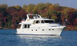 """59/60 Symbol Classic Pilothouse 2008 New condition, low hours, """"Great Live-a Board - Very Well Equipped"""". Never titled.Peter V @ 401 338 1717Symbol Yacht Sales, Inc."""