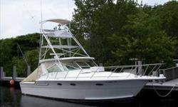 "1991 Tiara 36 OPEN ""ALLIE CAT"" is a versatile mix of fishability combined with family accommodations. Upgraded CAT C-7 diesels, (2004), plus several other mechanical and equipment enhancements give this older Tiara an attractively younger nature. No time"