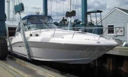 2003 34 SUNDANCER, LOADED BOAT, 8.1 MERC. FWC ENGINES JUST OVER 390 HRS, KOHLER GENEREATOR, BOW THRUSTER, V DRIVES, MANIFOLDS JUST REPLACED, FLAT SCREEN TELEVISION, RADAR/CHART PLOTTER, SHOWS A ten ! IF INTERESTED 978 979 1851. A picture's worth a 1,000