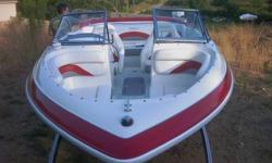 2007 VIP Ski Boat, I/O motor, all fiberglass. Has ski deck on back. Great boat. Asking 9,000 obo. Comes with ski jackets. Please email, call, or text. 501-655-9607