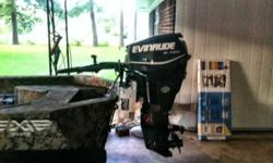 2013 Edge 1550 with 2010 Evinrude Etec & box tubing mid America trailer, boat has been in water about three times, selling boat to buy a Mud Boat. Upgraded swtich panel w/lamps, non slip floor liner, low deck, CMC PT130 Tilt & Trim, Rigid Dually D2